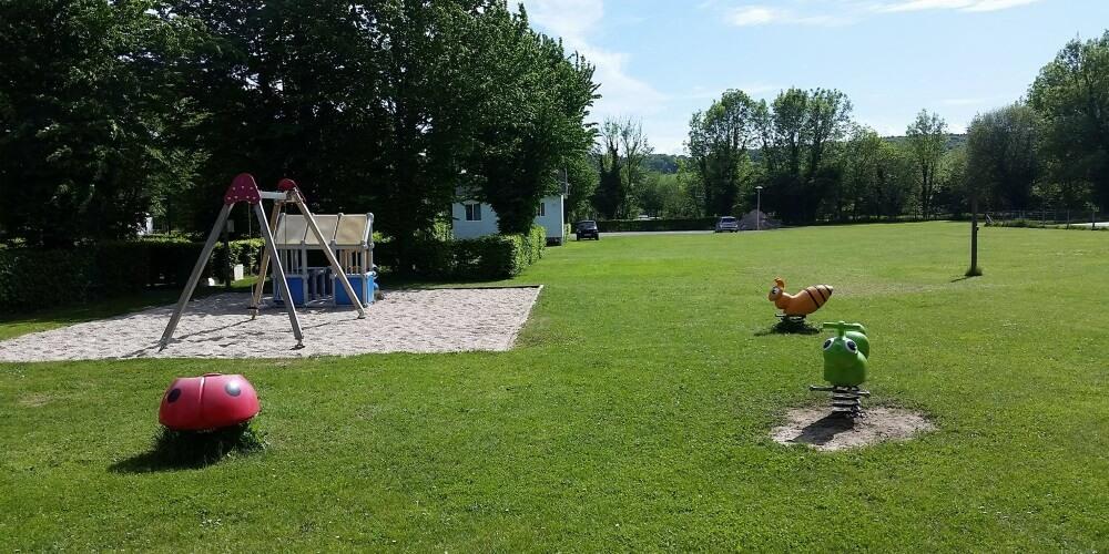 camping Aire de jeux pour enfants