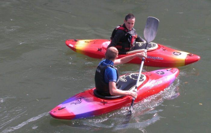 Canoe kayak dans l'Eure
