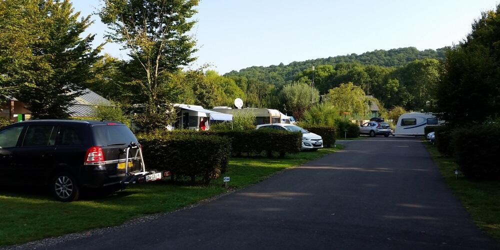 Emplacements du camping Rsile Seine les Etangs