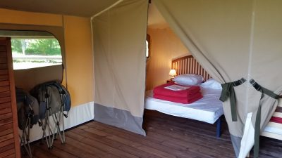 Ecolodge chambre grand lit